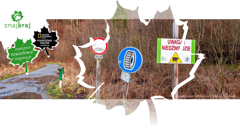 Znaki ostrzegające przed niedźwiedziami