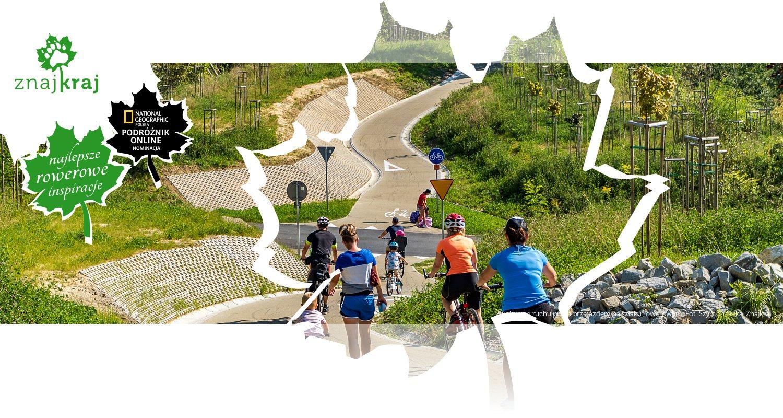 Zwolnienie ruchu przed przejazdem na szlaku rowerowym