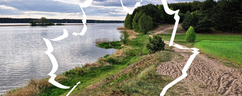 Nad jeziorem Wdzydze