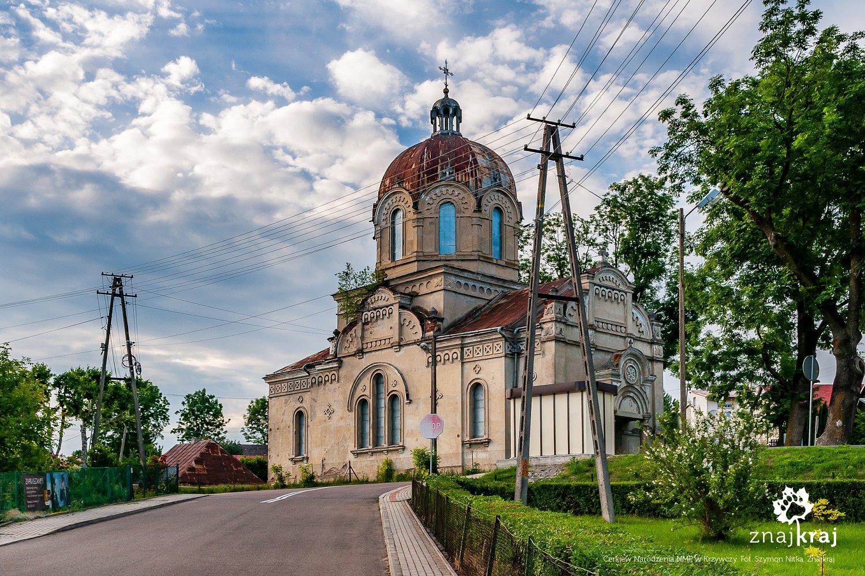 Nieczynna cerkiew w Krzywczy