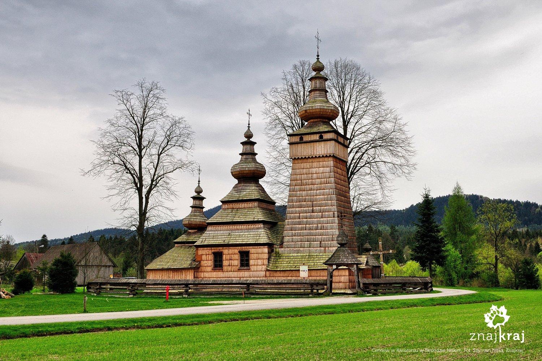 Cerkiew w Kwiatoniu w Beskidzie Niskim