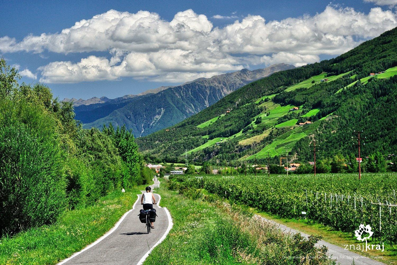 Droga rowerowa nad Górną Adygą