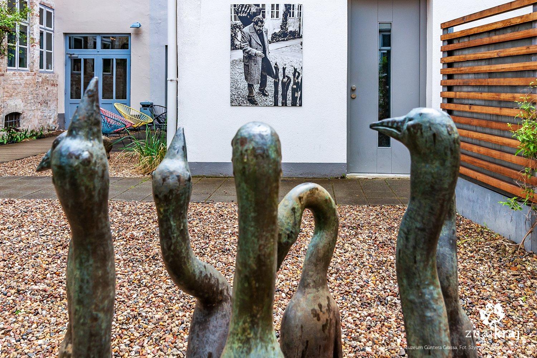 Dziedziniec muzeum Güntera Grassa