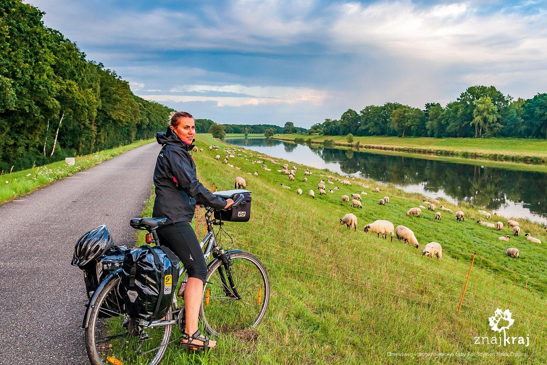 Elberadweg - droga rowerowa Łaby