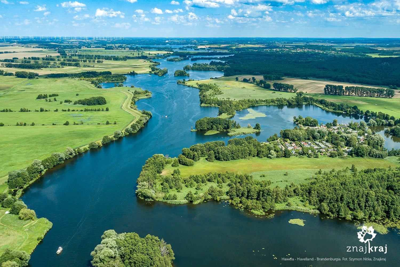 Hawela w okolicach Brandenburga