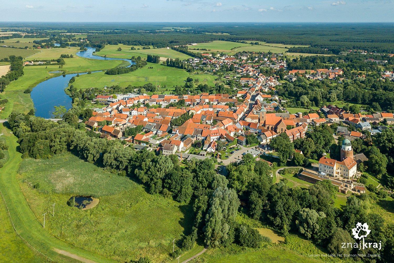 Miasto Lenzen w Brandeburgii