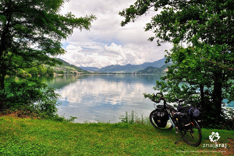 Nad Lago di Caldonazzo koło Trydentu