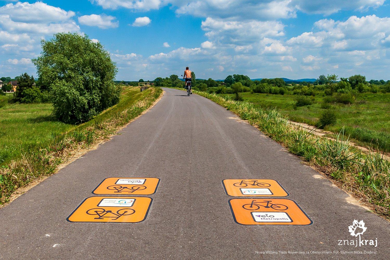 Nowa Wiślana Trasa Rowerowa za Oświęcimiem