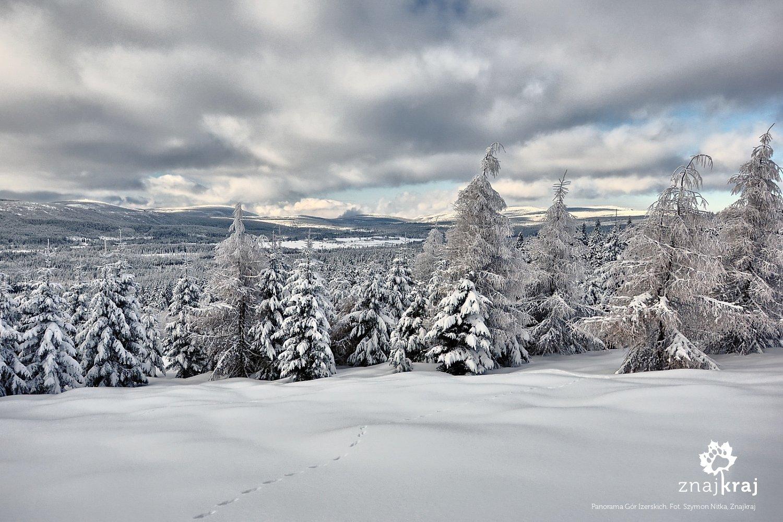 Panorama Gór Izerskich