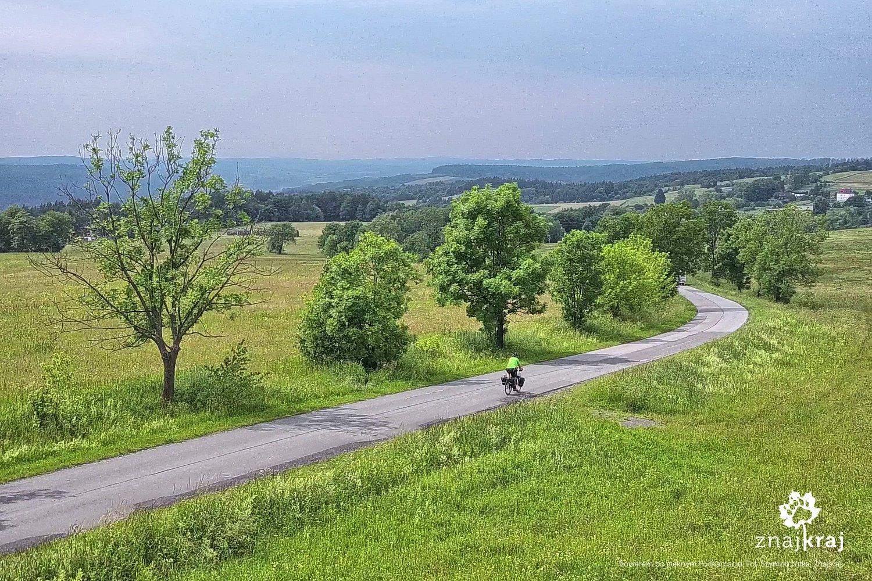 Szlak rowerowy Green Velo koło Ulucza
