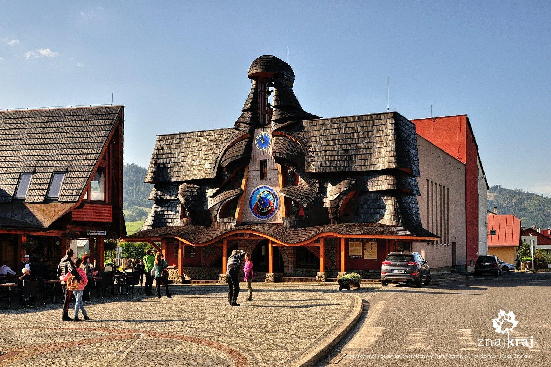 Slovenský orloj - zegar astronomiczny w Starej Bystrzycy