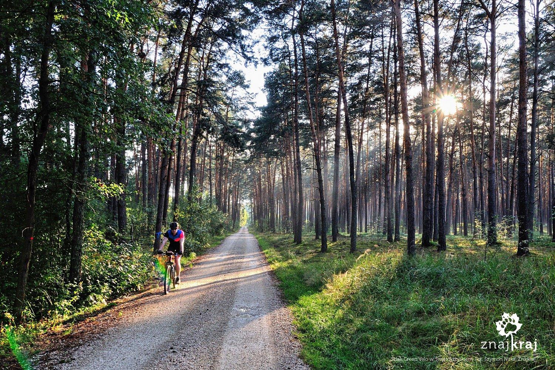 Utwardzone trasy rowerowe na Kielecczyźnie