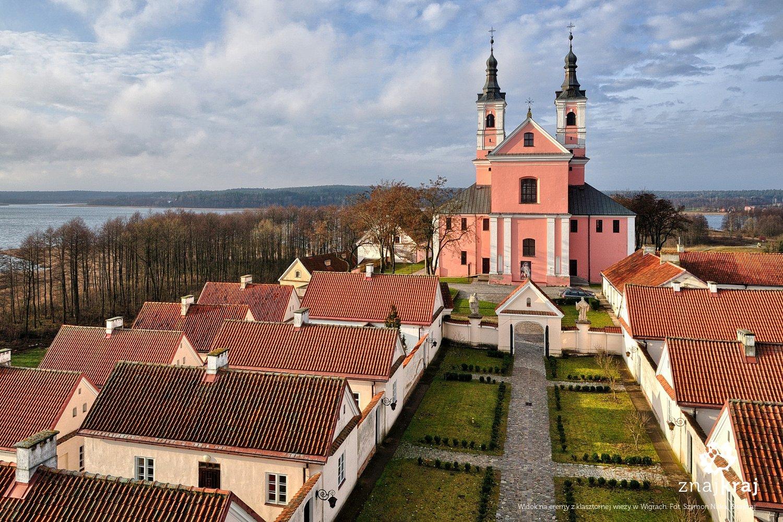 Dawny klasztor pokamedulski w Wigrach