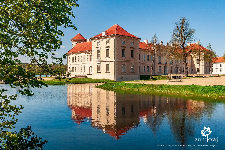 Zamek Rheinsberg w Brandenburgii