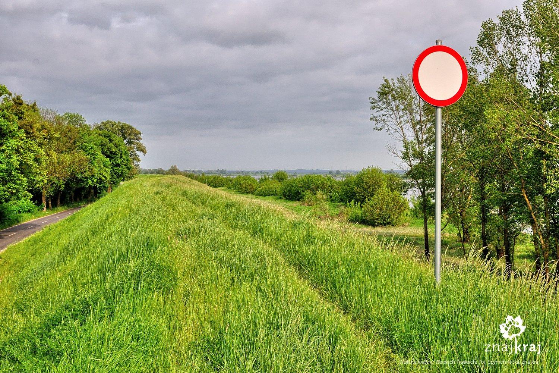 Trasa przyszłej Wiślanej Trasy Rowerowej