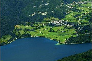 Jezioro Bohinjskie. Fot. Ufoncz