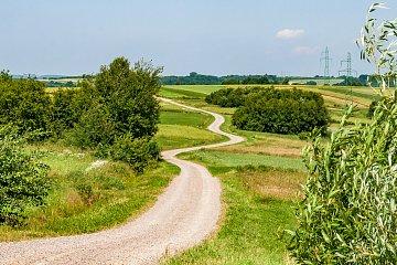 Malownicza trasa Green Velo za Dynowem
