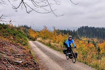 Na drodze w kierunku przełęczu Szarcula
