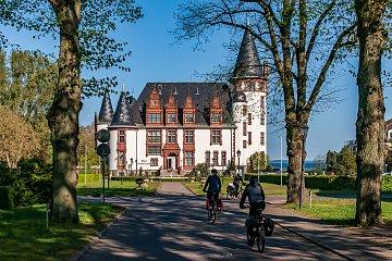 Pałac Klink koło Waren