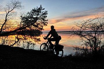 Rowerem wokół jeziora Wigry